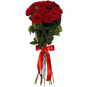 Букет из 11 красных роз - премиум